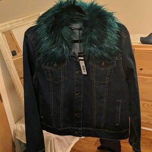 NWT Max Jeans Denim Jacket
